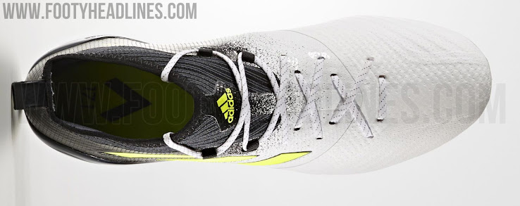 huge selection of 89517 44a42 Together with the rest of the Dust Storm pack, the white, black and yellow Adidas  Ace 2017 Primeknit boots went on sale on June 1, 2017.