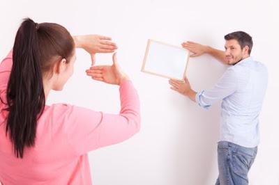 Tiga Tips Menata Pigura Foto Pada Dinding Rumah