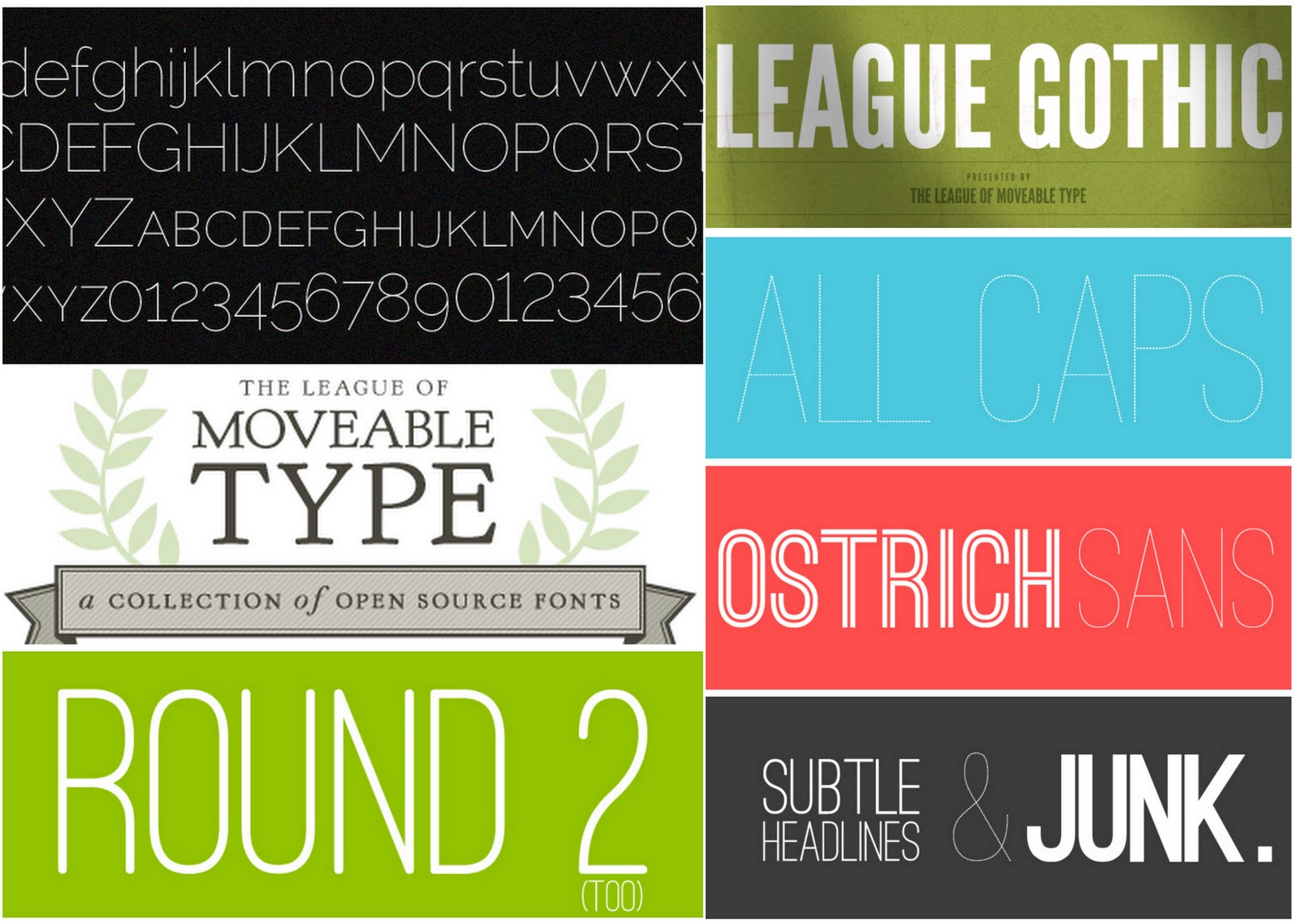 Zuhause in Germany: Sophisticated Free Fonts