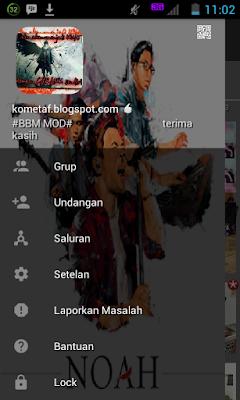 BBM MOD v3.0.1.25 Noah Lover APK Best New Theme