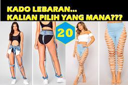 20 Model Busana Paling Moderen dan Mustahil Untuk Kalian Kenakan