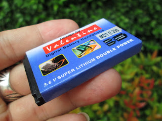 Baterai Motorola E398 Jadul Merk Valentine Langka
