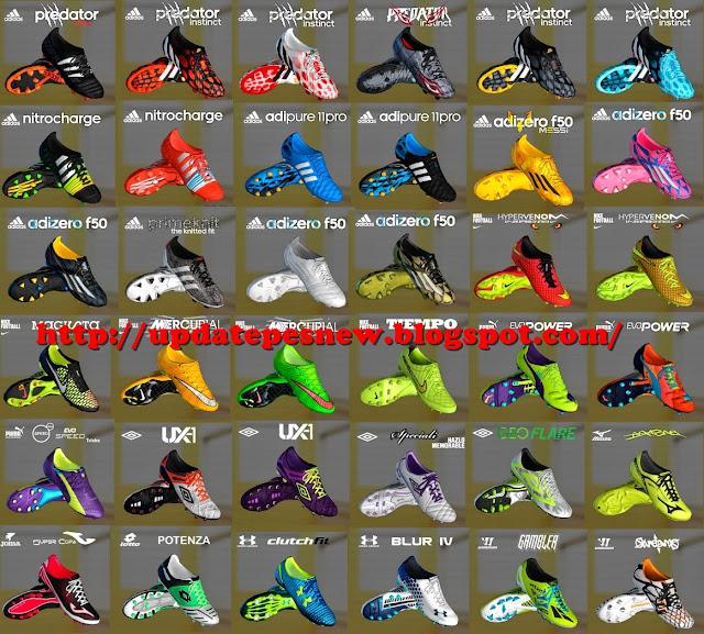 Kumpulan PES 2013 Bootpack Terbaru Musim 2016/2017
