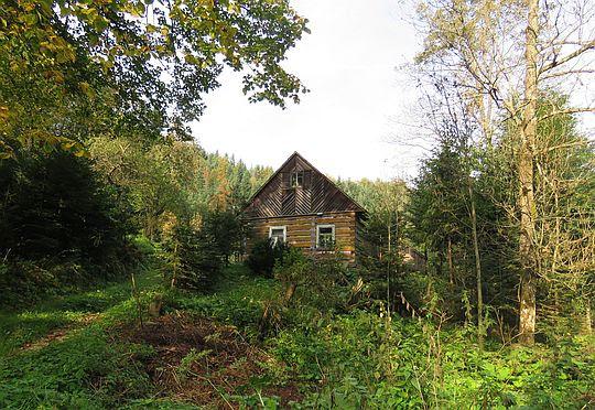 Stary drewniany dom.