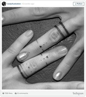 ลายสักแหวน