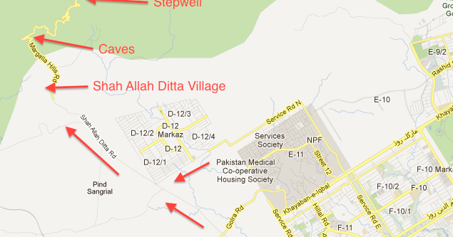 Around Islamabad: Shah Allah Ditta - Caves and Well
