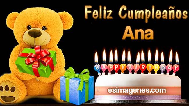 Feliz Cumpleaños Ana