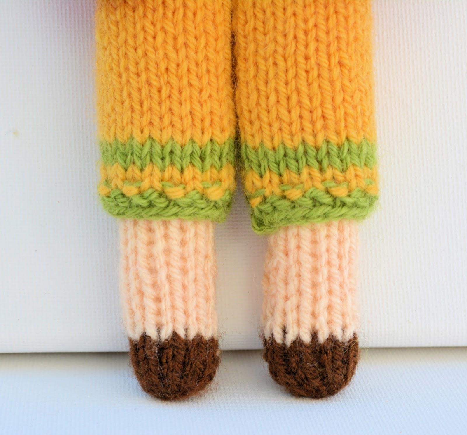 Daisy Doll Knitting Pattern : Edith Grace Designs: Daisy Rag Doll Knitting Pattern