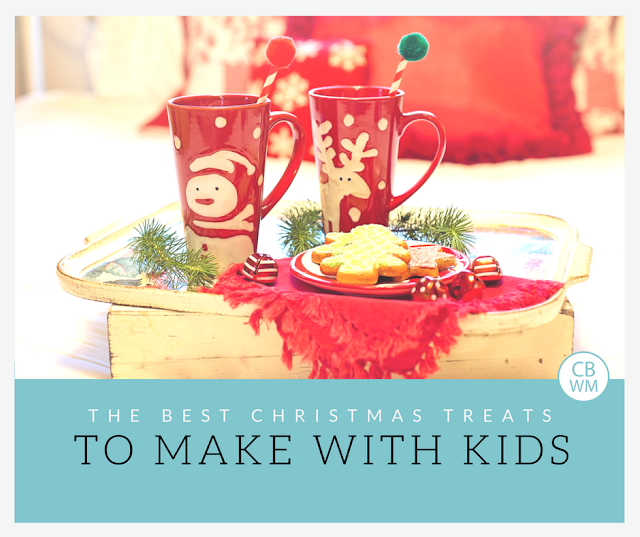 The Best Christmas Treats to Make with Kids during the holidays. These are great treats to make and eat and to share with neighbors, family, and friends at Christmas.