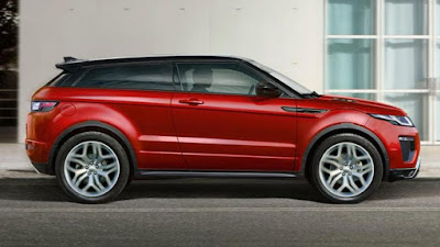 Range Rover Evoque:  turbocharged