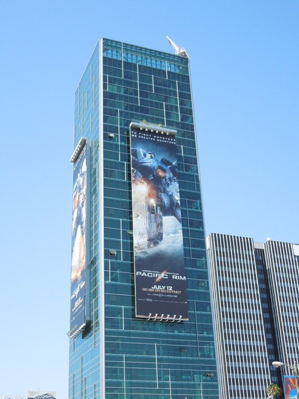Giant Pacific Rim billboards