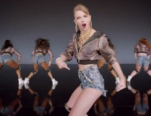 "Taylor Swift ""shake it off"" new music video"
