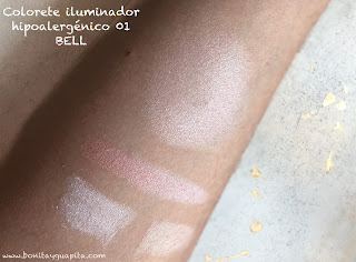 ILLUMINATING ROUGE HYPOAllergenic BELL 01 swatch
