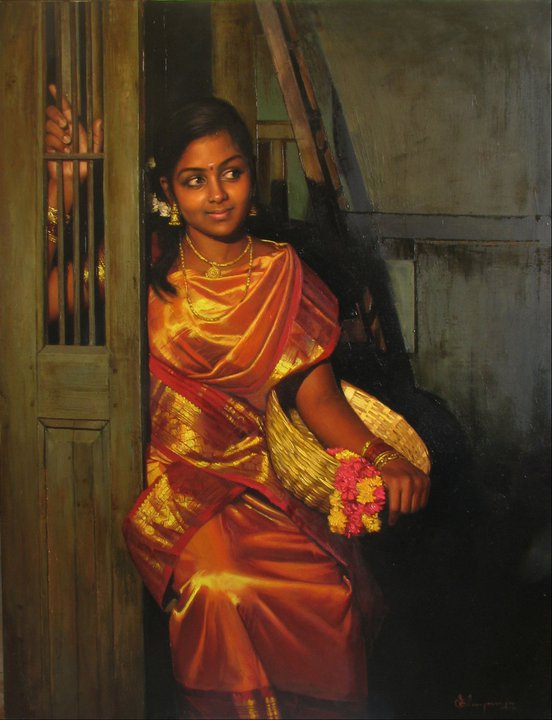 Best Chair For Guitar Playing Ikea White Rocking Paintings Of Classical Young Women Tamil Nadu, India