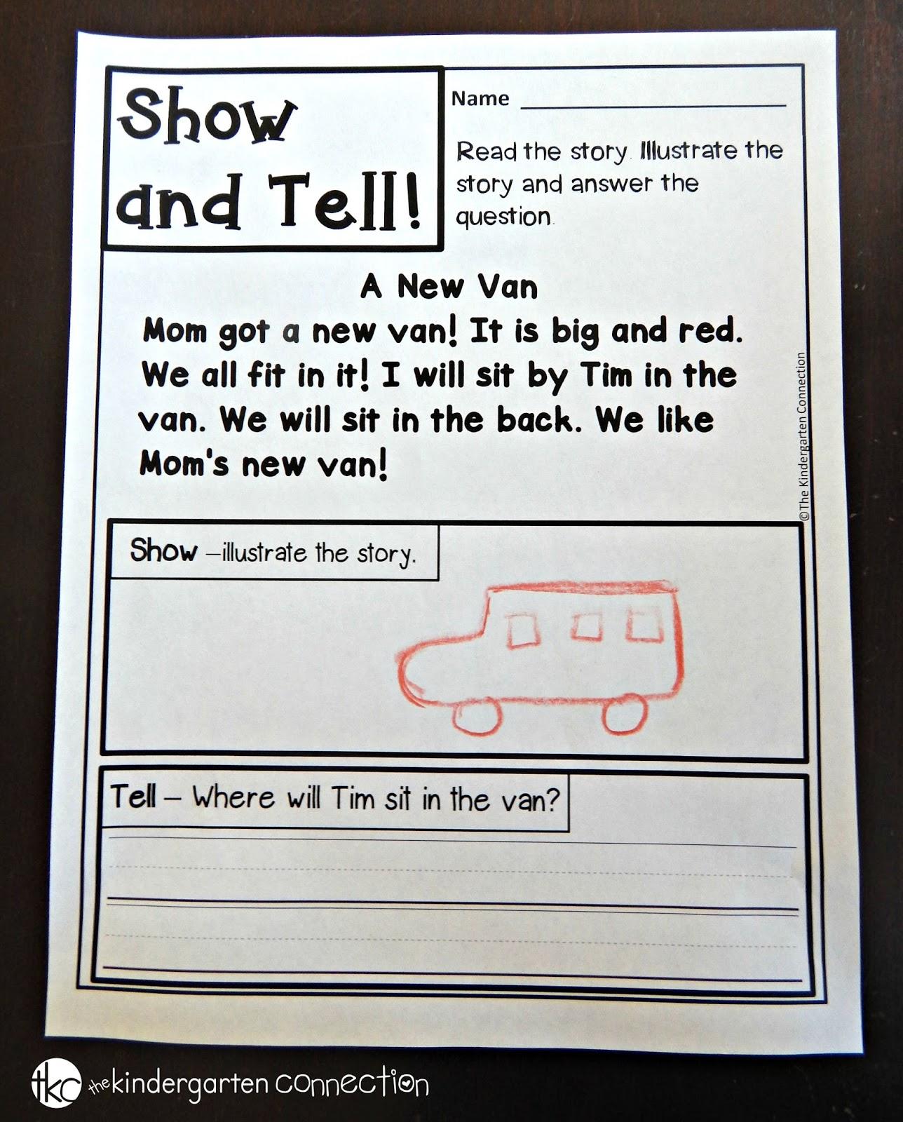 I Teach Kinder Kindergarten Teaching Resources Stories