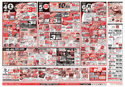 【PR】フードスクエア/越谷ツインシティ店のチラシ11月4日号