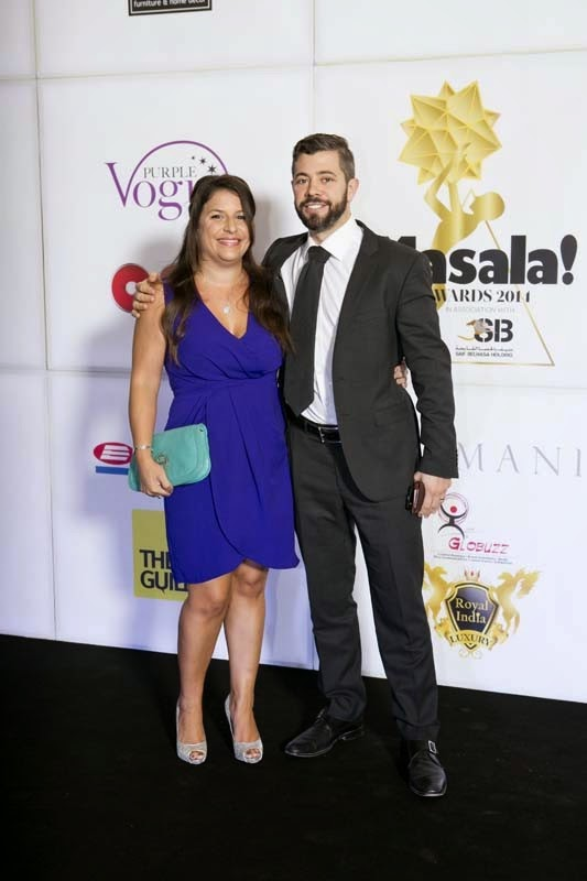 Sarah and Nick, Masala! Awards 2014 Photo Gallery