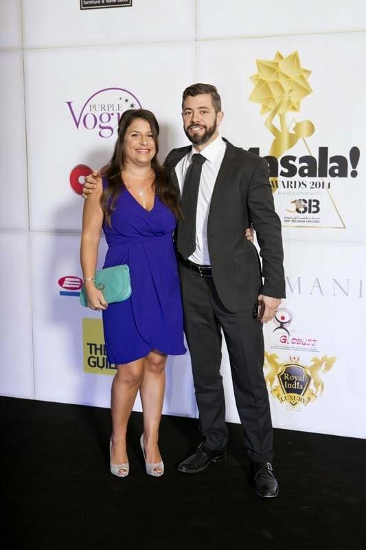 Sarah and Nick, Masala! Awards 2014 Photo Gallery