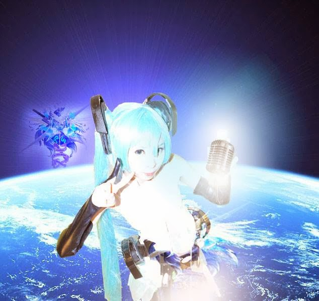 Hatsune Miku Append Cosplay