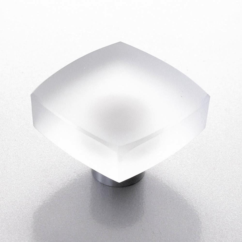 m belkn pfe aus glas und kristall design m belknopf glas edelstahl 30mm matt. Black Bedroom Furniture Sets. Home Design Ideas