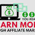 Earning Money in Affiliate Marketing
