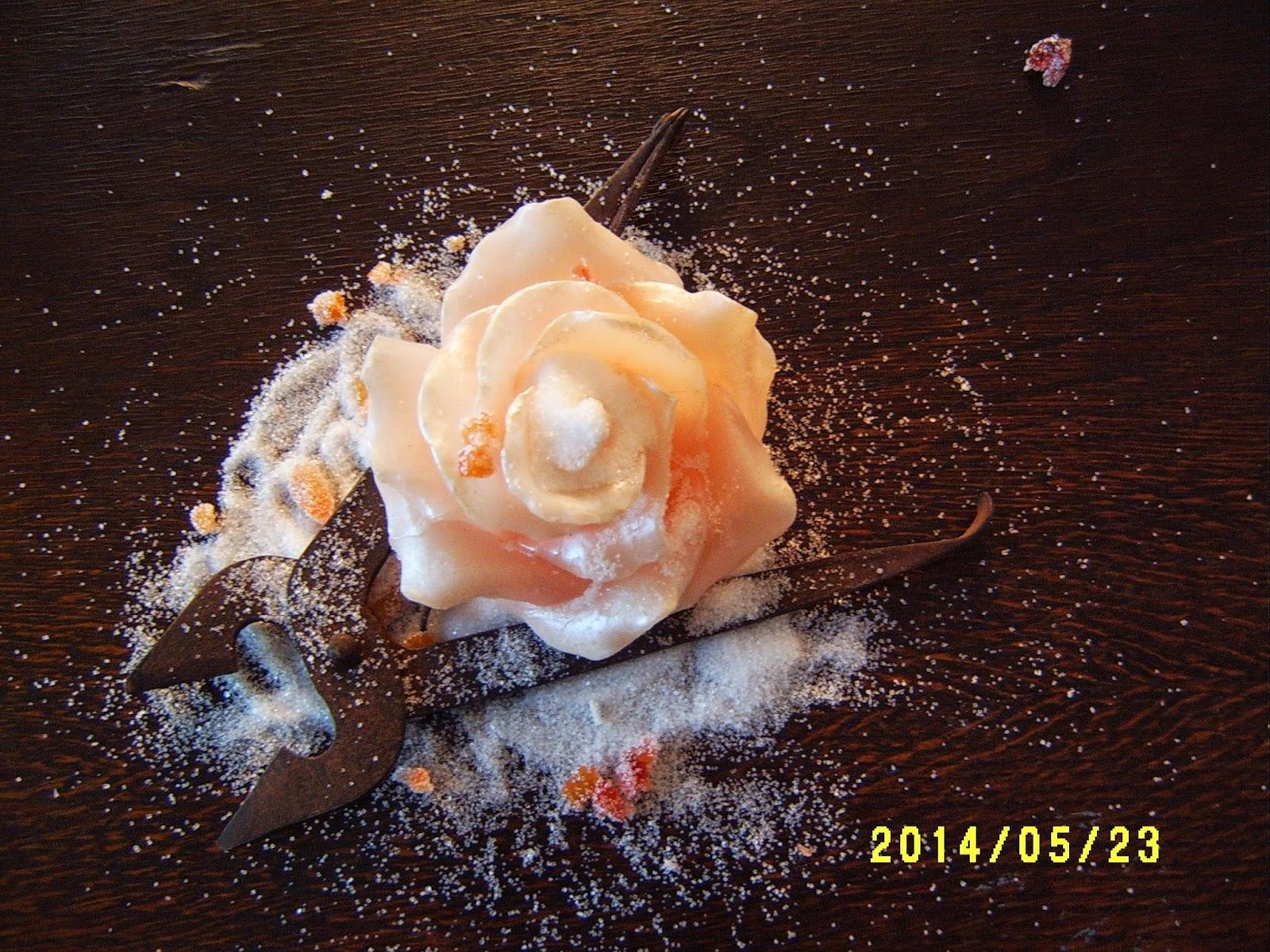 sokerisakset, sokeri, valkoinen, ruusu
