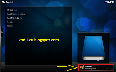 How To Install Dc Sports Addon On Kodi