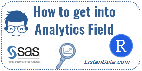 How to get into Analytics field