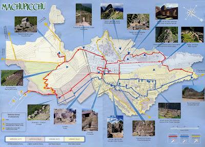 แผนผังมาชูปิกชู (Machu Picchu)