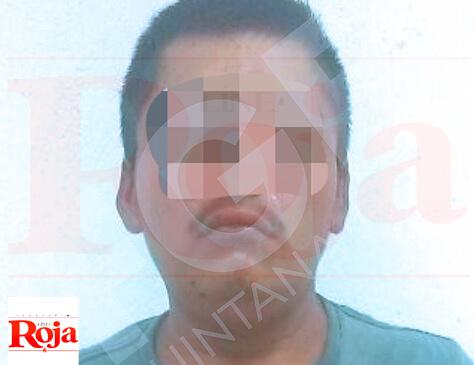 Policías Ministeriales detuvieron a un sujeto con droga en la colonia Gonzalo Guerrero de Playa del Carmen