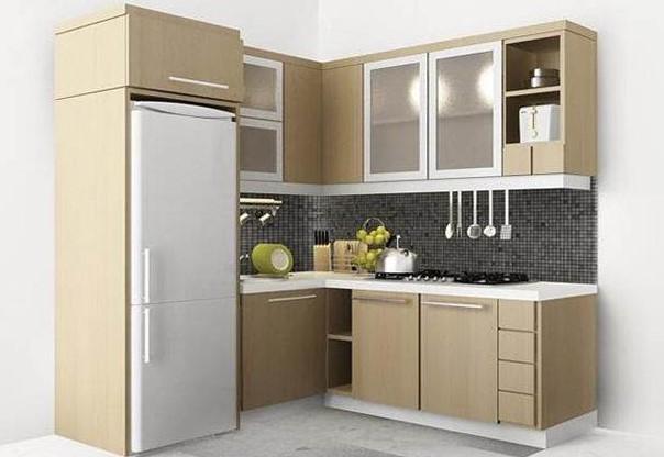 Perkiraan estimasi biaya pembuatan dapur minimalis full for Biaya kitchen set per meter