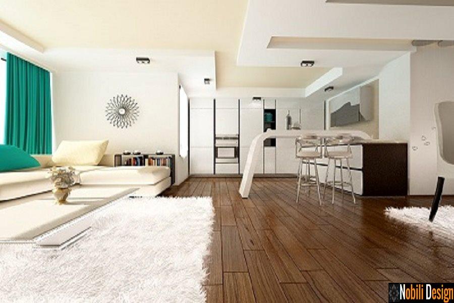 Design interior living casa stil modern Bucuresti - Amenajare interioara casa moderna in Bucuresti.