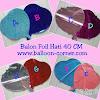 Balon Foil Hati / Foil Love (NEW COLOUR)