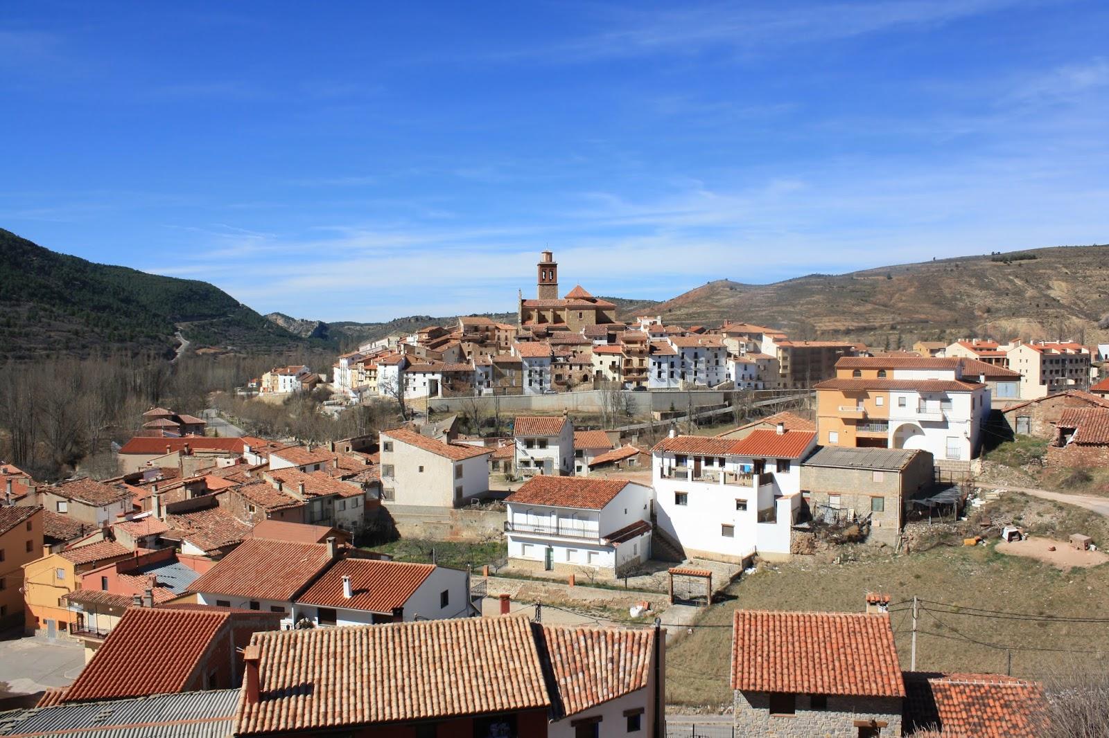 View of Arcos de las Salinas, Teruel
