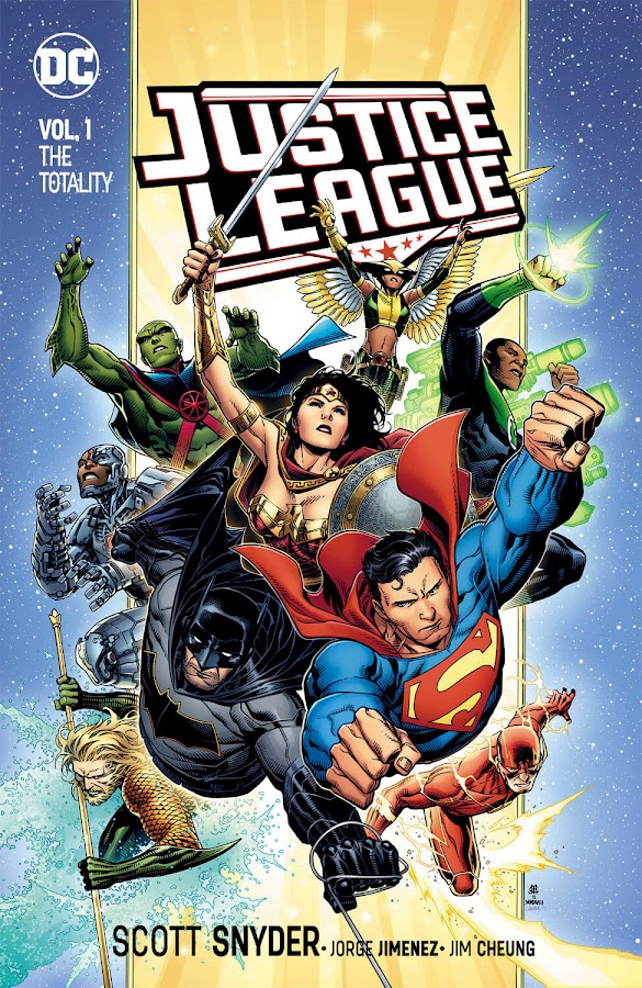 justice league the totality dc comics jim cheung