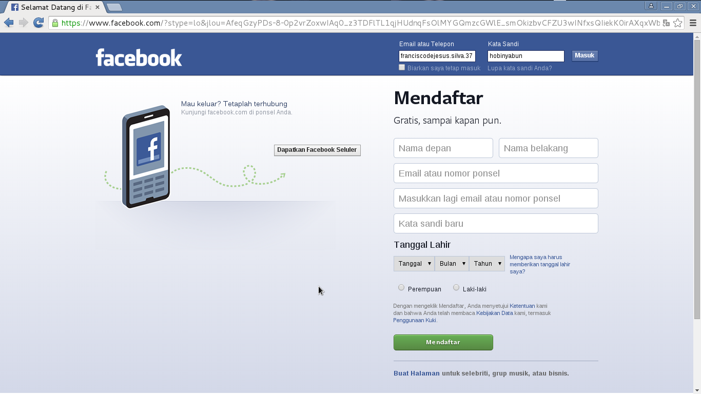 how to use html to hack facebook