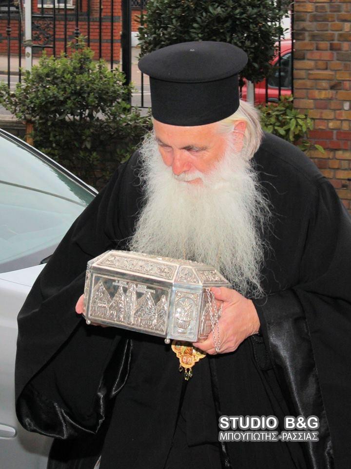 Τα Ιερά Λείψανα του Αγίου Λουκά στο Λονδίνο