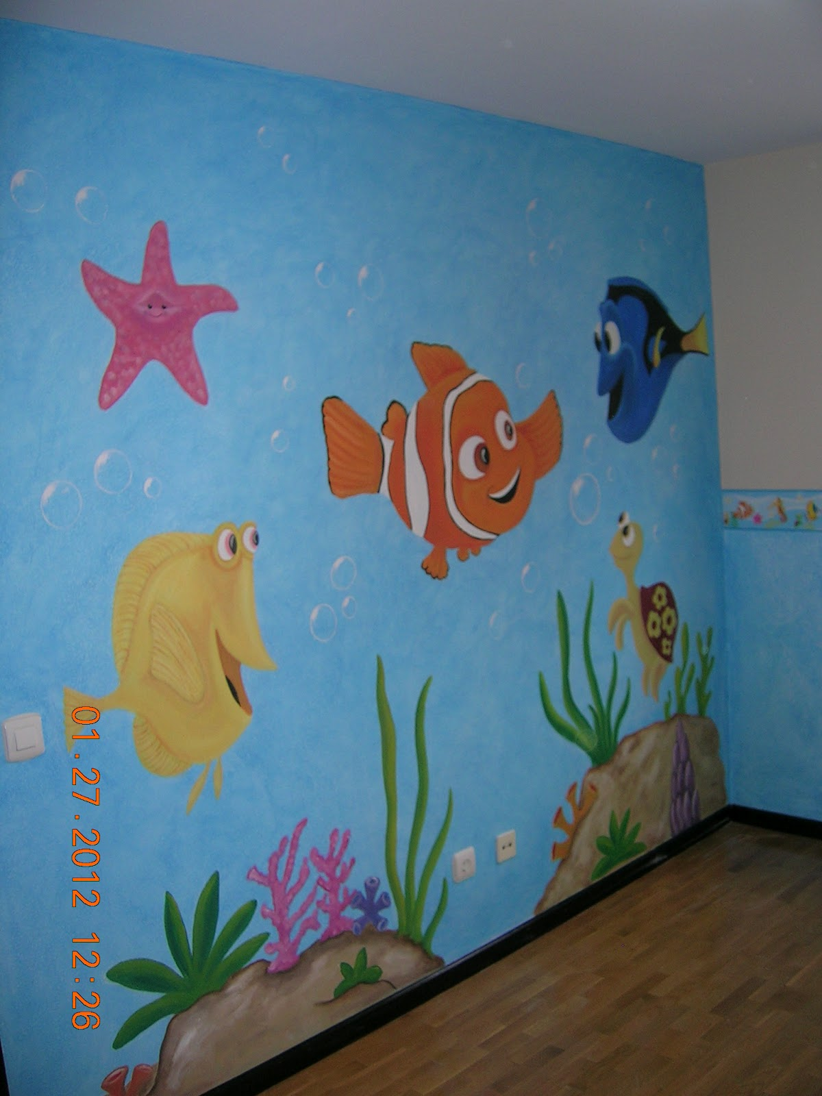 realizamos murales para infantiles