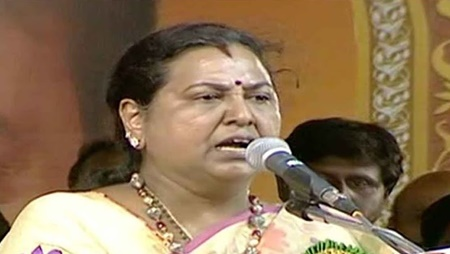 Premalatha speech at Vijayakanth 40 years event