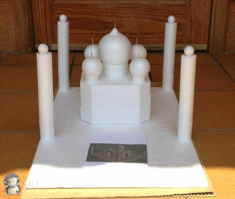 Tarta de Chuches Taj Mahal