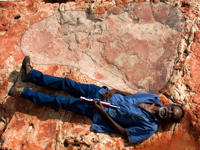 World's Biggest Dinosaur Footprint Found in 'Australia's Jurassic Park'