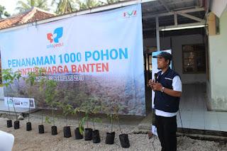 Solopeduli Tanam 10.000 Pohon di Wilayah Terdampak Tsunami Selat Sunda Banten