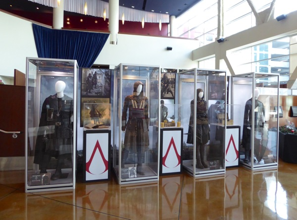 Assassins Creed movie costume props