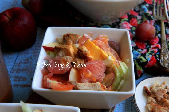 Resep Salad Huzarensla (Huzarensalade) JTT