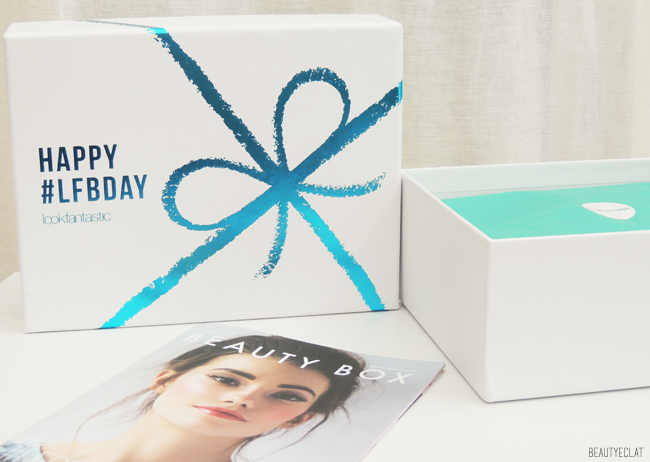 Lookfantastic Beauty box septembre 2016 happy birthday lfbday