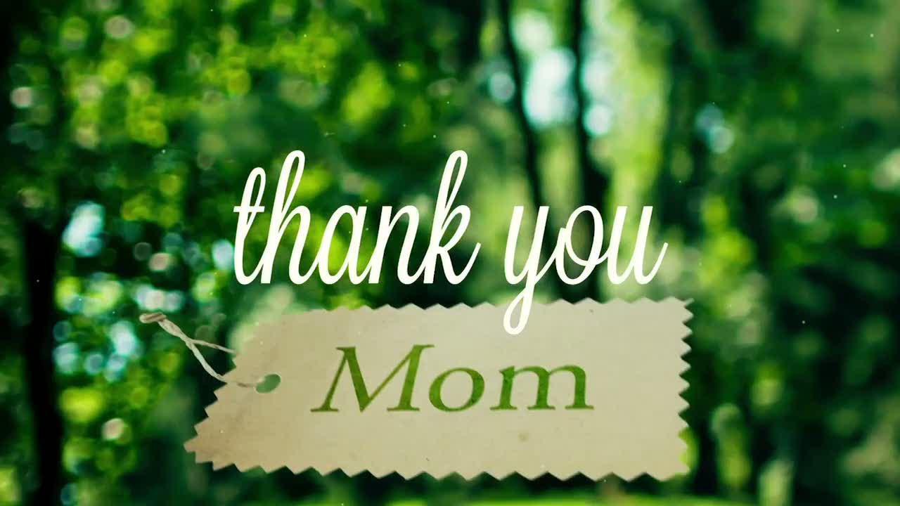 image Thank you mom for being my first