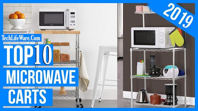 Top 10 Best Microwave Carts Reviews in 2019
