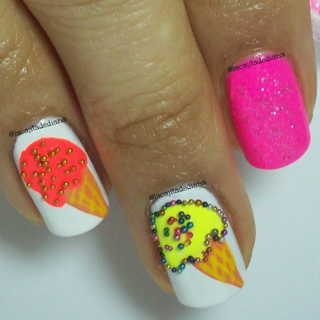 IcecreamNails-Glitter-Shimmer-Harunouta