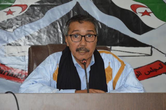 رئيس المجلس الوطني يؤكد ان قرار مجلس الامن الاخير يعكس شدة الصراع مع الاحتلال المغربي وحلفائه على اعلى المستويات في الامم المتحدة