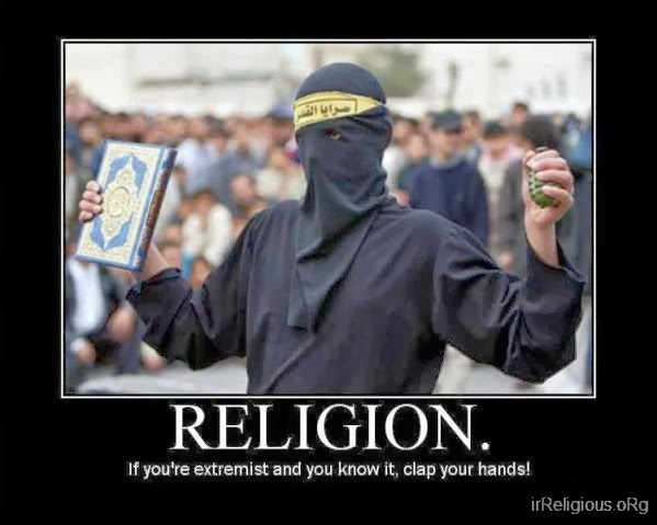 Funny Religious Extremist Clap Your Hands Joke Meme Picture